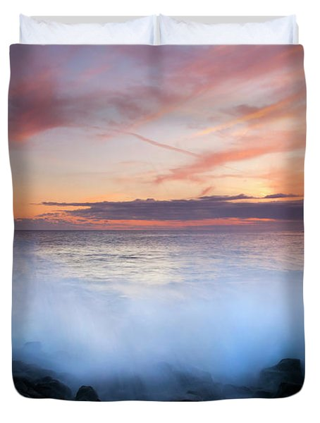 Tropical Explosion Duvet Cover by Mike  Dawson