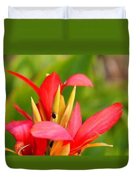 Tropical Fall Duvet Cover
