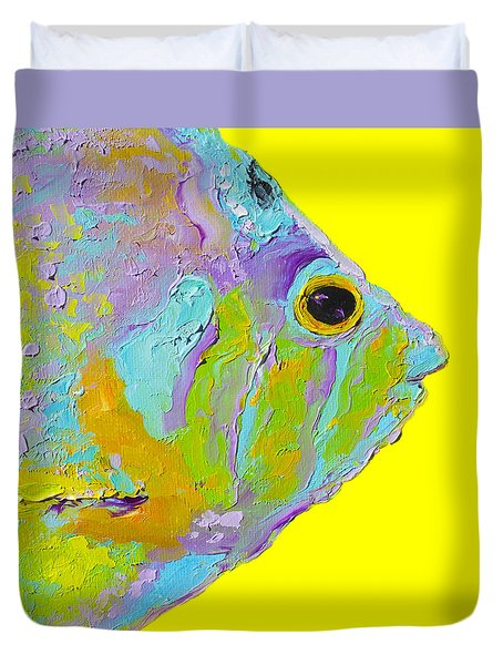 Tropical fish for bathroom decor painting by jan matson for Jan s tropical fish