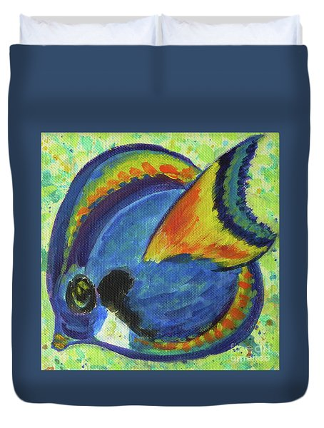 Tropical Fish Series 3 Of 4 Duvet Cover