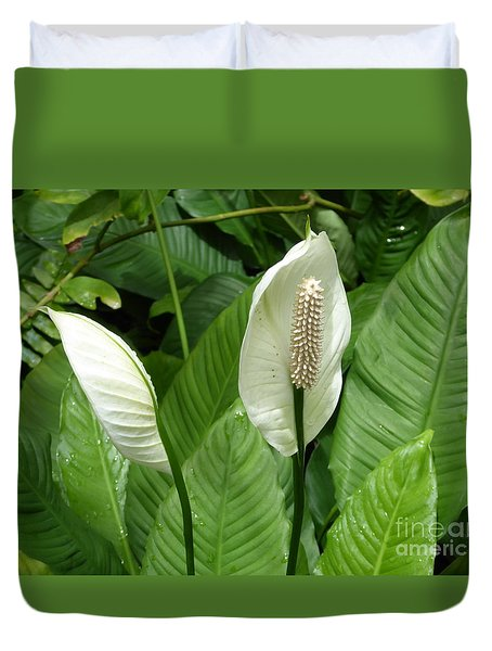 Tropical Flower Duvet Cover