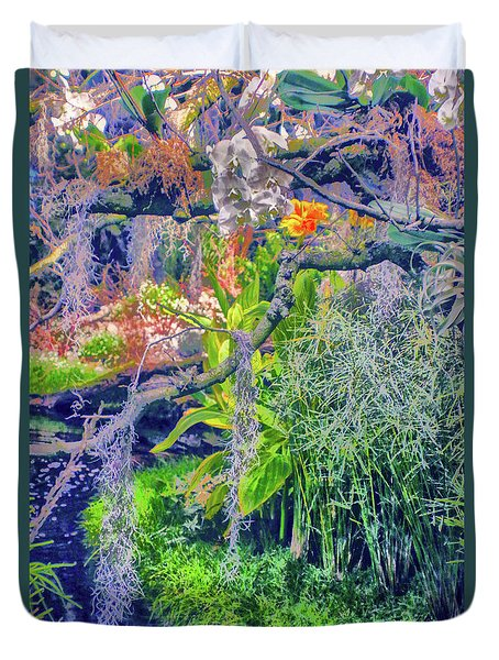 Tropical Garden Duvet Cover