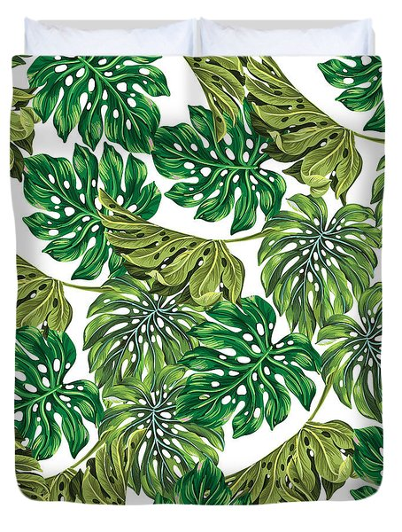 Tropical Haven  Duvet Cover by Mark Ashkenazi