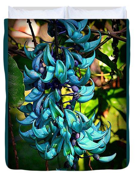 Tropical Jade Duvet Cover