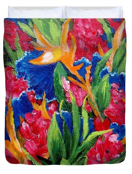 Tropical Duvet Cover by Jamie Frier