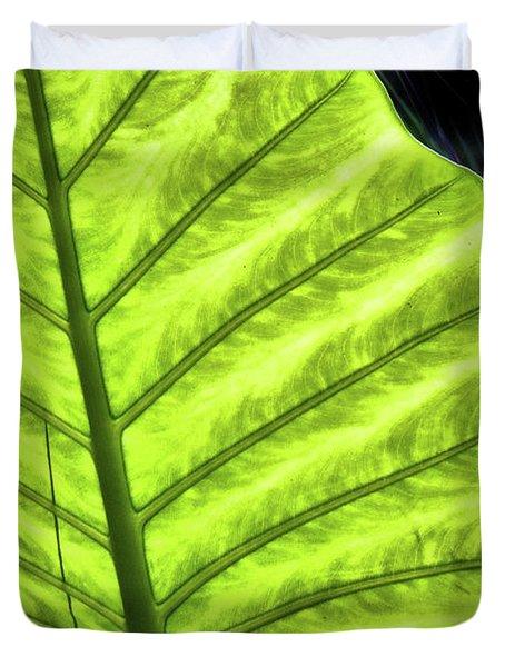 Tropical Leaf Duvet Cover