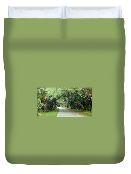 Tropical Magic Forest Duvet Cover