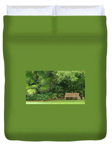 Tropical Seat Duvet Cover