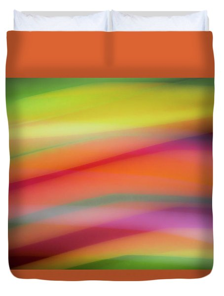 Tropical Sherbet Duvet Cover