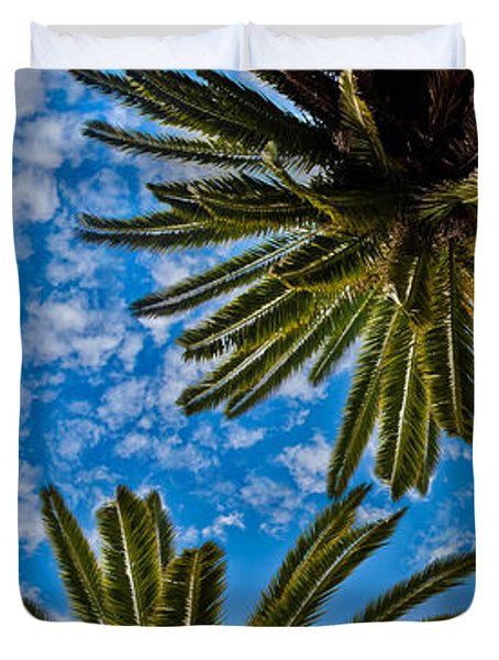 Tropical Skies Duvet Cover