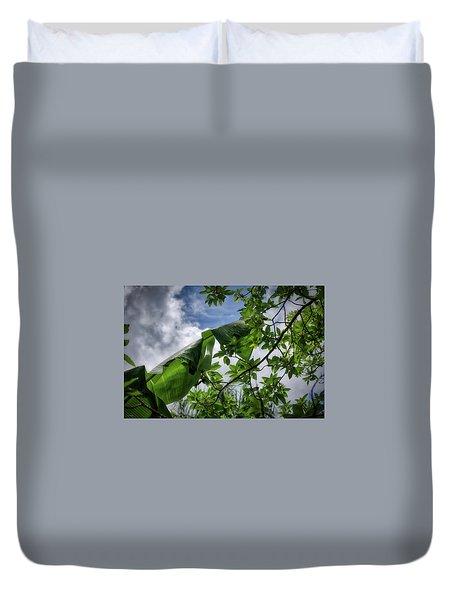 Tropical Sky Duvet Cover