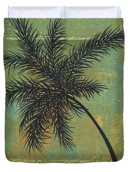 Tropical Splash 4 By Madart Duvet Cover by Megan Duncanson