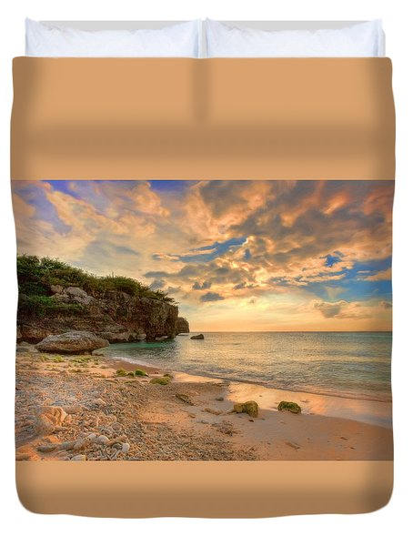 Tropical Sunset Duvet Cover