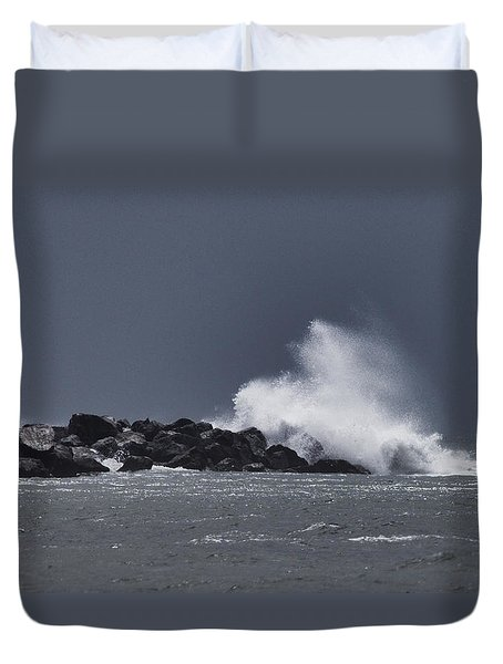 Tropical System Meets Jetty Duvet Cover