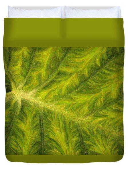 Tropical Textures I Duvet Cover