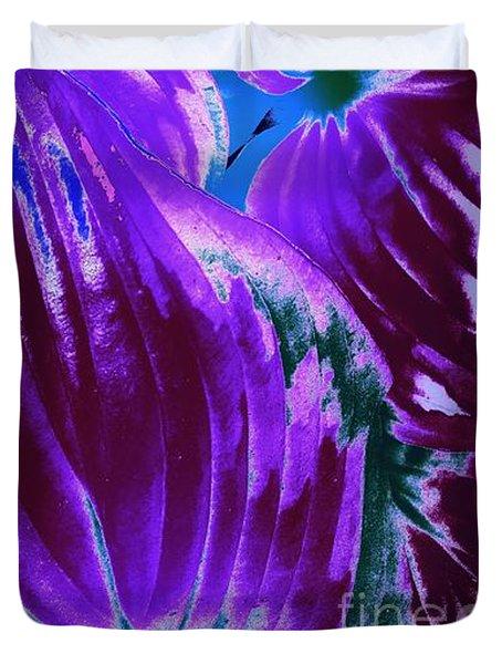 Tropical Trendsetter  Duvet Cover by Rachel Hannah