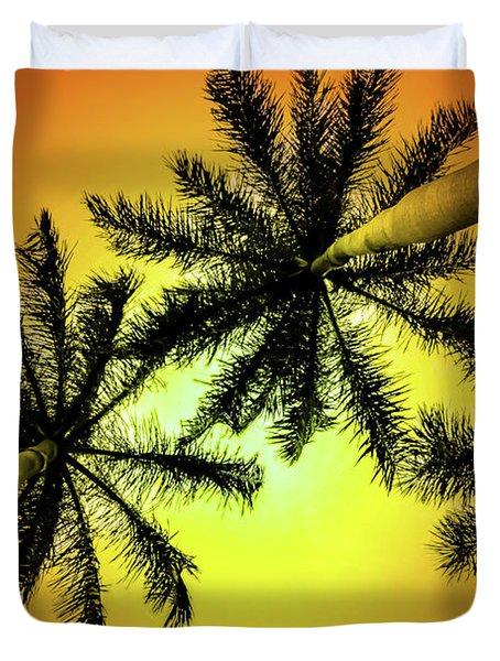 Tropical Vibrance Duvet Cover