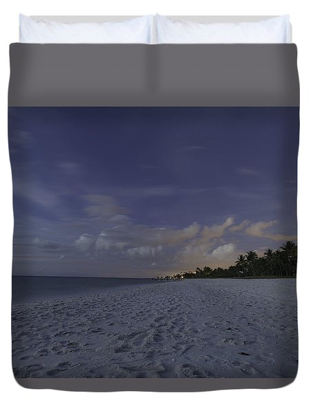 Tropical Winter Duvet Cover