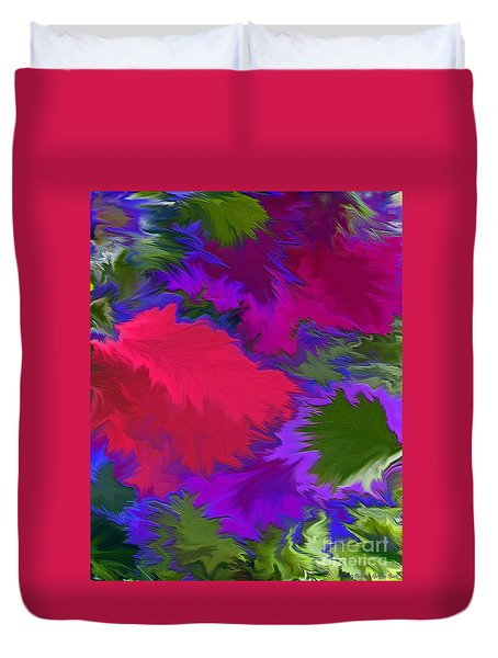 Duvet Cover featuring the photograph Tropicana by Patricia Griffin Brett