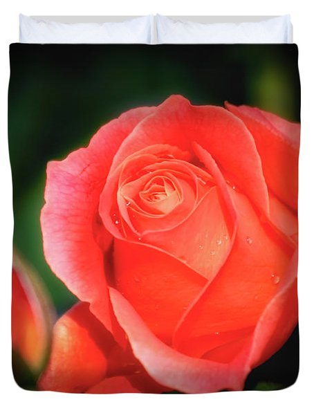 Tropicana Rose Duvet Cover