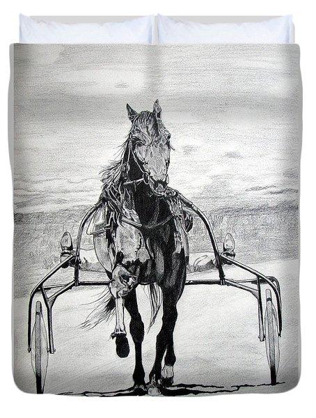 Trotter Duvet Cover by Melita Safran