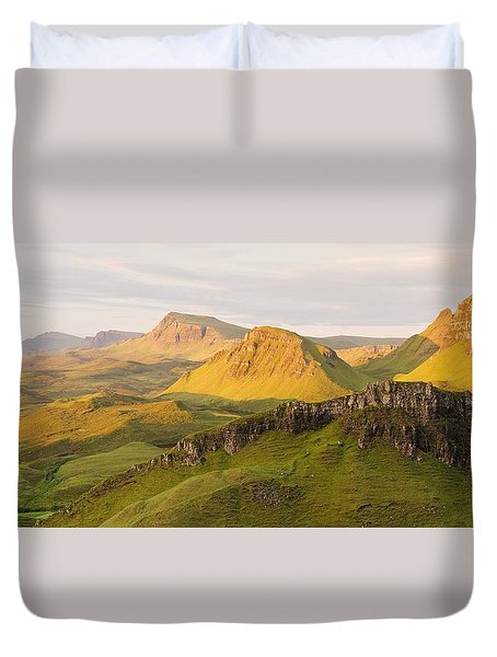 Trotternish Summer Panorama Duvet Cover