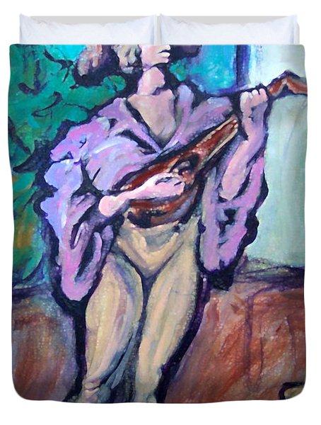 Troubadour Duvet Cover by Kevin Middleton