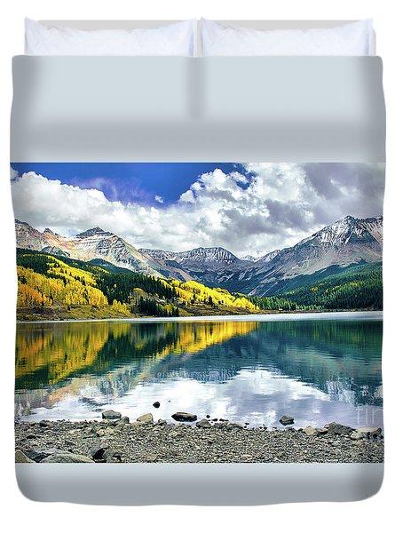 Trout Lake Duvet Cover