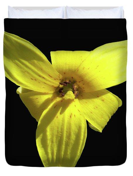 Trout Lily Duvet Cover