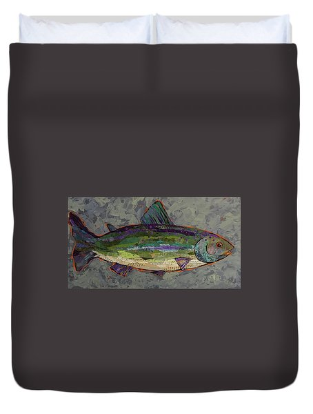 Trout Duvet Cover