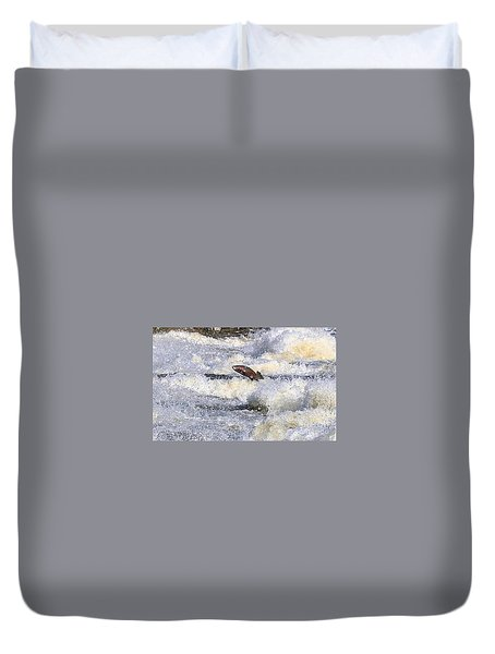 Trout Duvet Cover by Robert Pearson