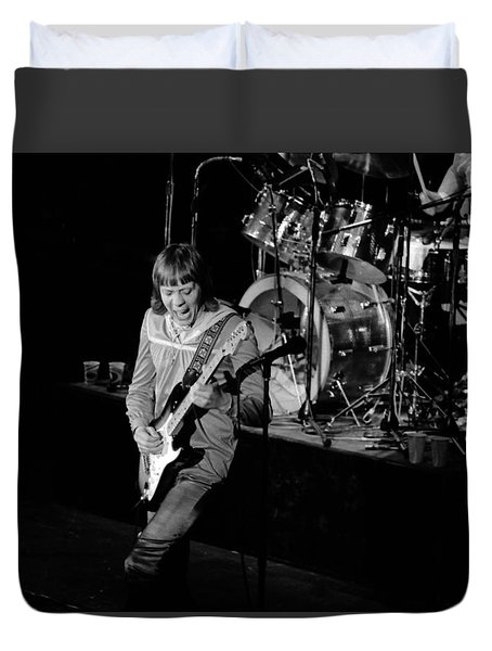 Trower At Winterland Duvet Cover by Ben Upham
