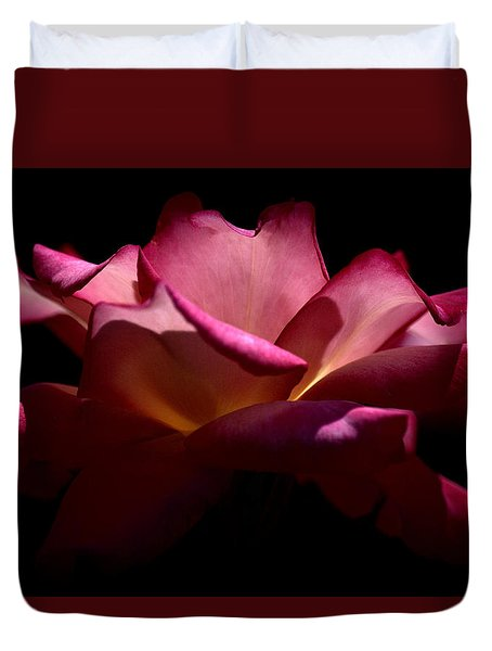 Duvet Cover featuring the photograph True Beauty by Lori Seaman