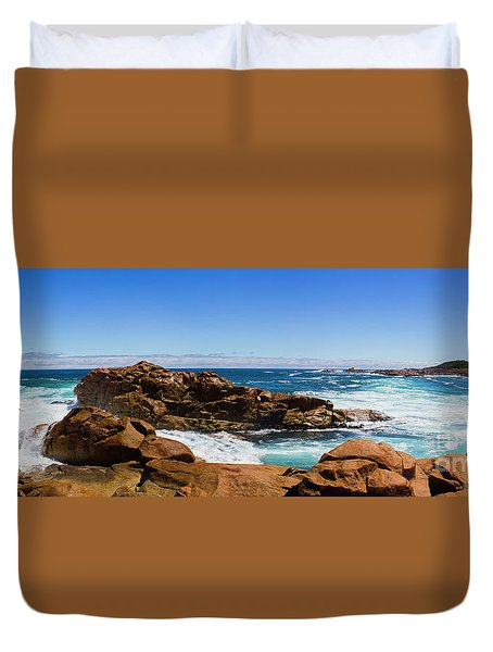 True Blue Aussie Coastline Duvet Cover
