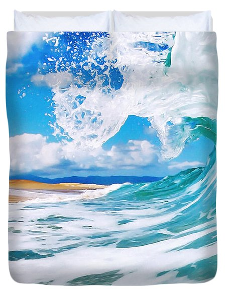 True Blue Duvet Cover