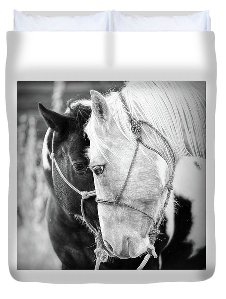 True Friends Duvet Cover