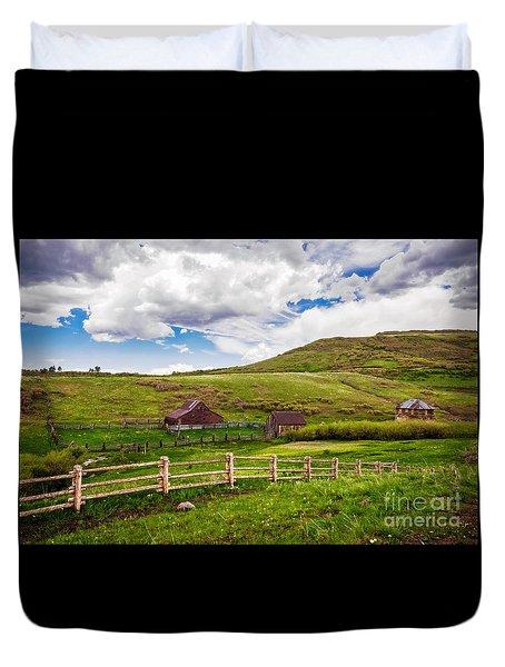 True Grit Ranch Duvet Cover