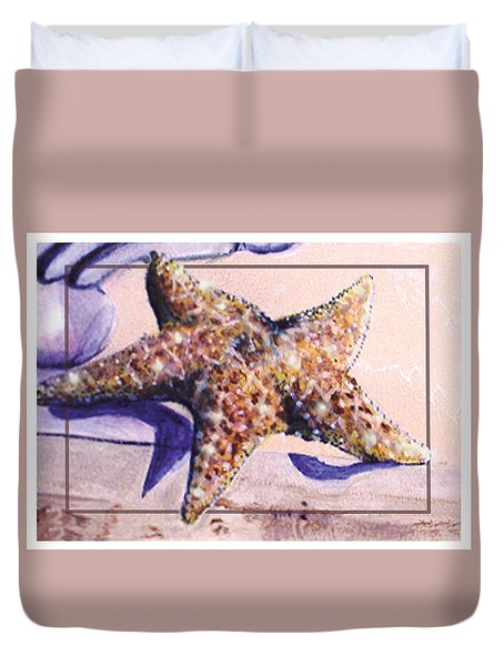 Trum L'oeil.star Fish Duvet Cover