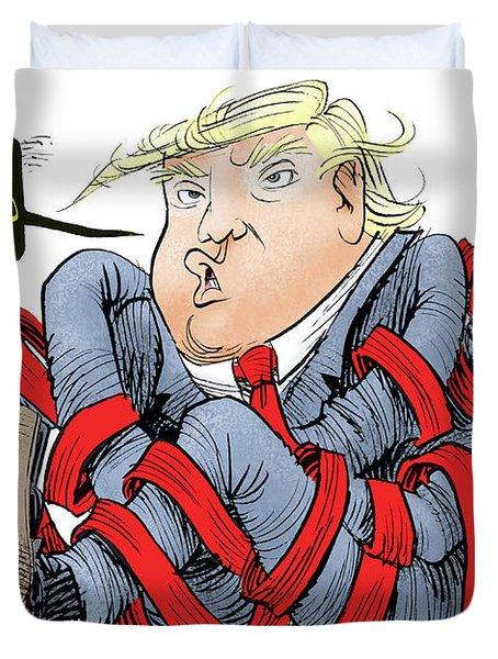 Trump Chaos Duvet Cover