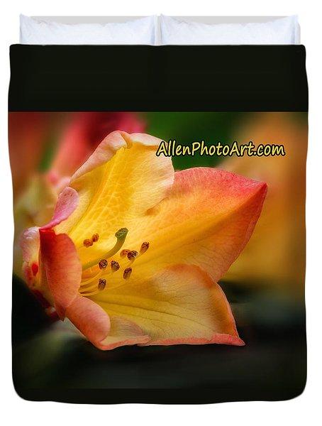 Trumpet Of Spring For Tote Bag Duvet Cover