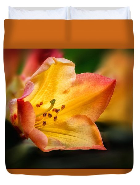 Trumpet Of Spring Duvet Cover