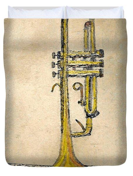 Trumpet Duvet Cover