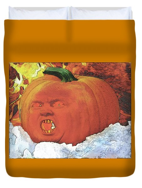 Trumpkin Fire And Ice Duvet Cover