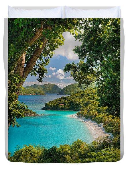 Trunk Bay Duvet Cover