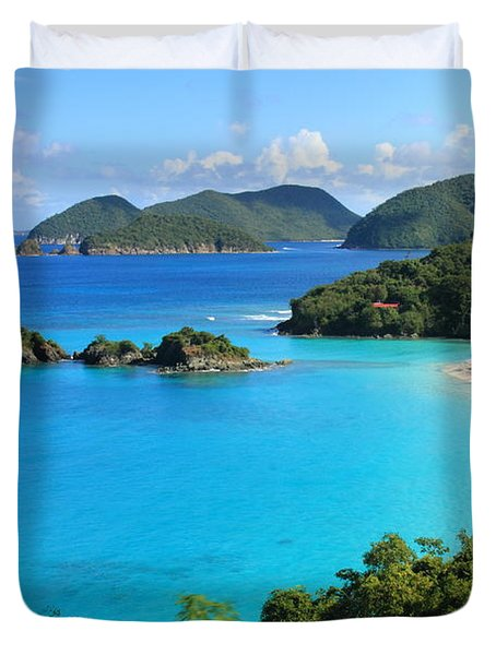 Trunk Bay St. John Duvet Cover