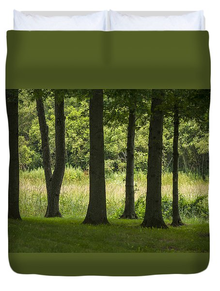 Trunks In A Row Duvet Cover