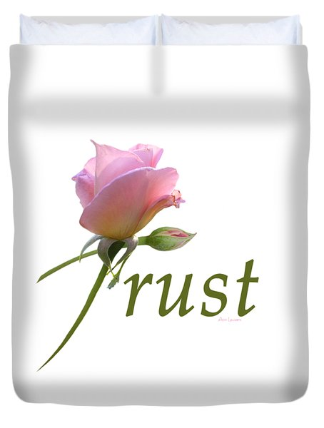 Trust Duvet Cover by Ann Lauwers