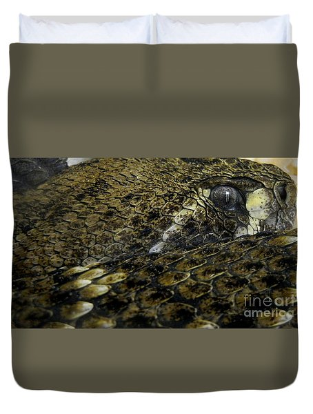 Trust In Me... Duvet Cover