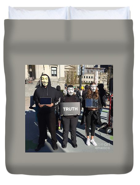 Truth Duvet Cover
