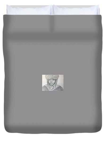 Tuareg Beduin Duvet Cover